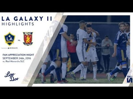 LA Galaxy II clinch a 2016 USL Cup Playoff spot