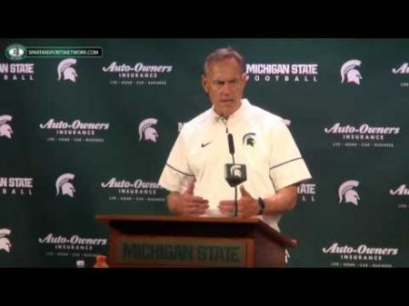 After blowout loss for Spartans, rumblings of Mark Dantonio to LSU arise
