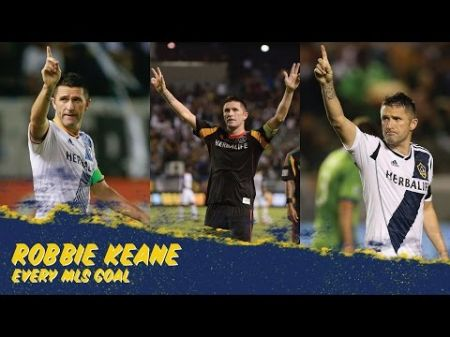 Robbie Keane is first player with double-digit goals in five consecutive seasons with LA Galaxy