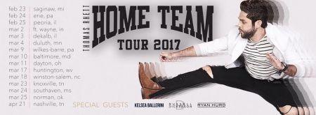Thomas Rhett maps out his 2017 headlining Home Team Tour.