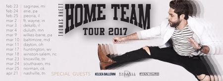 Thomas Rhett maps out his 2017 headlining Home Team Tour.