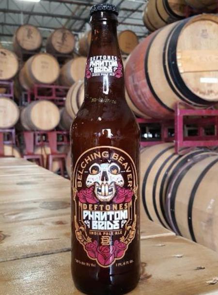 Deftones frontman Chino Moreno has partnered withBelching Beaver Brewery to launchPhantom Bride IPA.