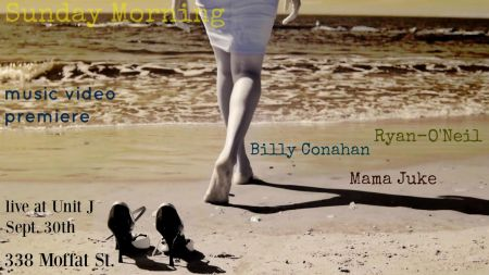 Ryan O'Neil, Bill Conahan and Mama Juke will perform live at Unit J for O'Neil's new music video premiere.
