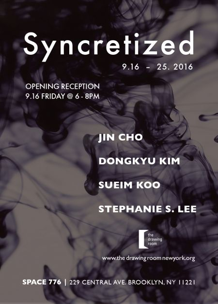 The Drawing Room presents Syncretized art show at Space 776 in Brooklyn.