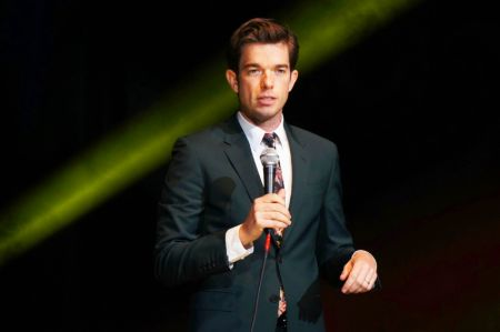 John Mulaney performs at Oddball Comedy & Curiousity Festival 2016 in Tinley Park, IL.