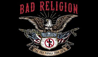 Bad Religion and Against Me! tickets at The Warfield in San Francisco