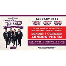 Comedy Central Impractical Jokers Santiago Sent Us Tour  January