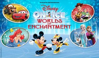 Disney On Ice: Worlds of Enchantment tickets at STAPLES Center in Los Angeles