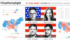 FiveThirtyEight Elections Podcast: Live! tickets at PlayStation Theater in New York