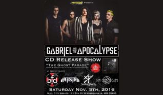 Gabriel and the Apocalypse tickets at Mill City Nights in Minneapolis