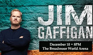 Jim Gaffigan: Fully Dressed tickets at Broadmoor World Arena in Colorado Springs