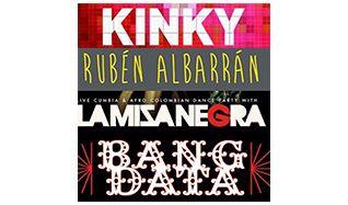 Kinky, Rubén Albarrán No DJ Set (of Café Tacvba)  tickets at The Regency Ballroom in San Francisco