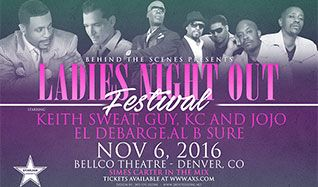 Ladies Night Out Festival tickets at Bellco Theatre in Denver