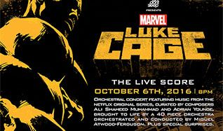 Marvel's Luke Cage: The Live Score tickets at The Theatre at Ace Hotel in Los Angeles