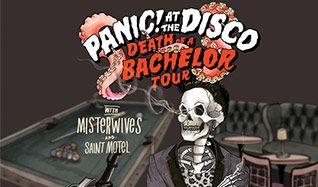 Panic! At the Disco tickets at Pepsi Center in Denver