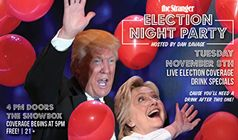 Election Night Party tickets at The Showbox in Seattle