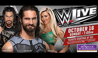 WWE Live tickets at Broadmoor World Arena in Colorado Springs
