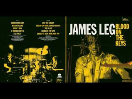 James Leg releases the howling new album 'Blood on the Keys'