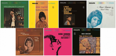 Individual vinyl copies of the late Nina Simone's previous releases on Philips Records are now available to the public.