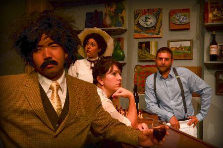 Tim Takechi as Einstein, Madison Jade Jones as Suzanne, Melissa Fenwick as Germaine, Matt Manguso as Freddy