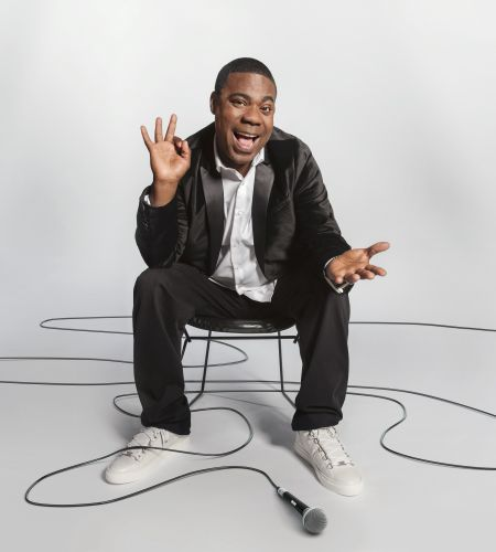 Tracy Morgan performs stand-up comedy at Primm Valley Resort & Casino's Star of the Desert Arena on Oct. 22