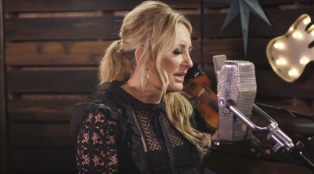 """Lee Ann Womack sings Vern Gosdin's """"Chiseled in Stone"""" as part of the Forever Country Covers series."""
