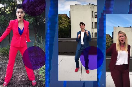 """Electroclash trio Le Tigre just released their first song in 12 years,""""I'm With Her."""""""
