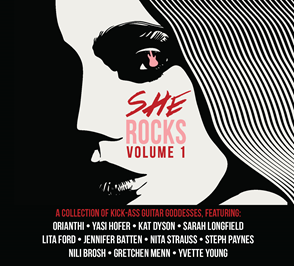 Some of the best female guitarists come together for 'She Rocks, Vol.1' guitar compilation