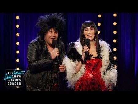 Cher and James Corden perform 'I Got You Bae' on 'The Late Late Show'