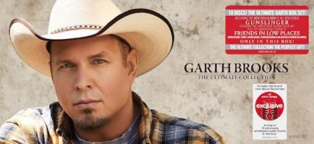 Garth Brooks to release 'Ultimate Collection' as a Target Exclusive Nov. 11, 2016.