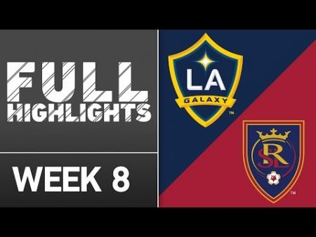 LA Galaxy to play Real Salt Lake for first round of MLS playoffs