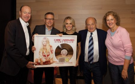 Carrie Underwood receives numerous multi-platinum certifications from the RIAA.