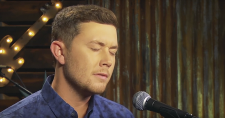 """Scotty McCreery renders emotional version of Jamey Johnson's hit song """"In Color."""""""