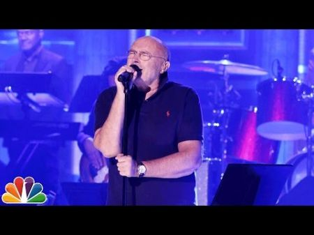 Watch: Phil Collins sings 'In the Air Tonight' on Tonight Show