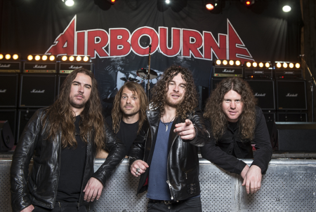 New Airbourne tune becomes official theme song for the WWE event 'Hell in a Cell'