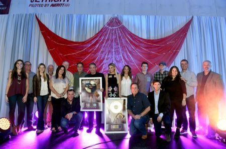Kelsea Ballerini celebrates gold certification of her debut album The First Time.