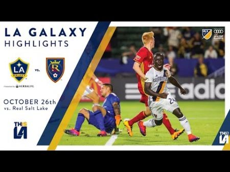 LA Galaxy to host Real Salt Lake at Stub Hub for MLS Western Semifinals