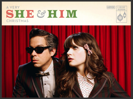 She & Him will release their second holiday album Christmas Party on Oct. 28.