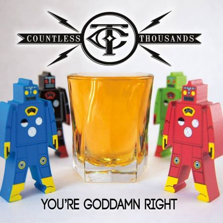 Countless Thousands release cool-nerdy album 'You're Goddamn Right'