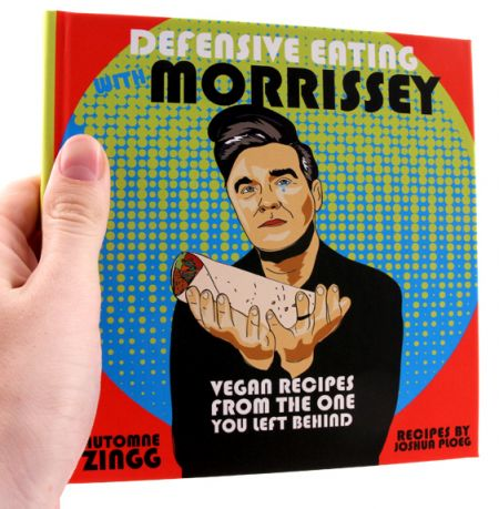 Check out these incredible Morrissey and Nick Cave-themed vegan cookbooks