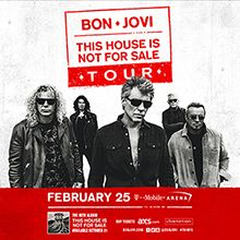 Bon Jovi tickets at T-Mobile Arena in Las Vegas