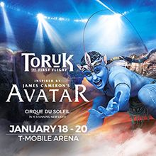 Cirque du Soleil - TORUK: The First Flight tickets