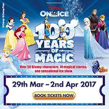 Disney On Ice celebrates 100 Years of Magic tickets