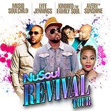 Nu Soul Revival Tour tickets at Arvest Bank Theatre at The Midland in Kansas City