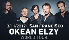 Okean Elzy  tickets at The Warfield in San Francisco
