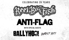 Reel Big Fish and Anti-Flag tickets at Starland Ballroom in Sayreville