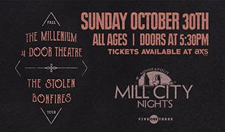 The Millenium tickets at Mill City Nights in Minneapolis