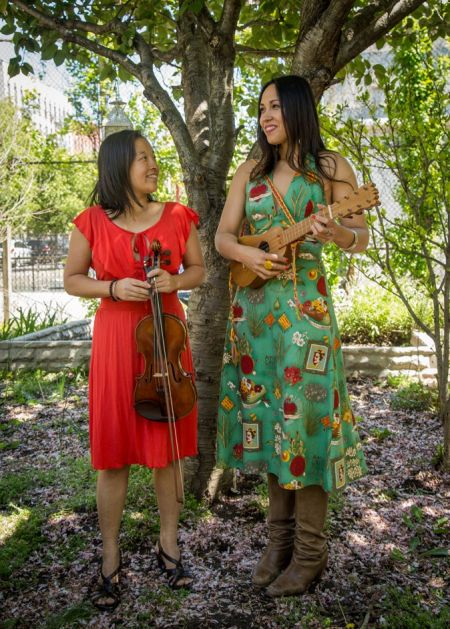 """Sonia De Los Santosand Elena Moon Park will perform at Symphony Space in NYC as part of the """"Just Kidding"""" series for children and families"""