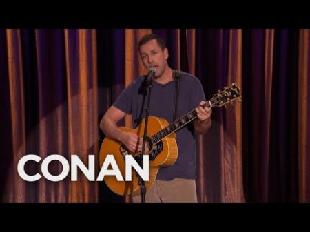 Watch Adam Sandler perform 'My Old Chair' on 'Conan'
