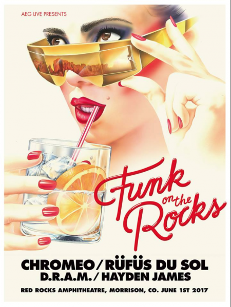 Chromeo is returning to Red Rocks next June